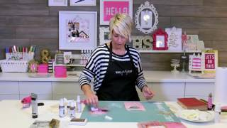 Adding Dimension and Interest with Paper Stencils | Lesson 2 | Heidi Swapp