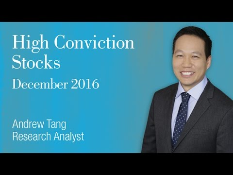 High Conviction Stocks: December 2016, Andrew Tang