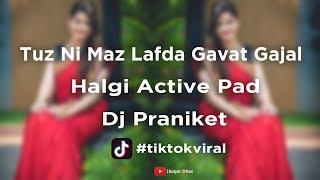 || Tuz Ni Maz Lafda Gavat Gajal ||  Halgi Active Pad Mix || Dj Praniket || Tikok Viral ||