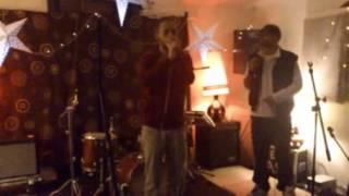DANNY LADWA IMPROVISING LIVE @ ROCKCHIME FT CONSCIOUS ROUTE & BLASFIMA