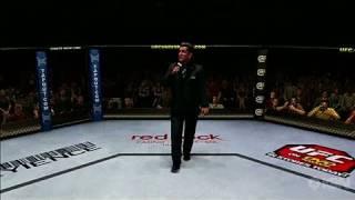 UFC Undisputed 2010 PlayStation 3 Gameplay - Fran