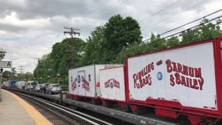 Last arrival of the Ringling Bros and Barnum & Bailey Circus Train, LIRR power, Garden City, NY