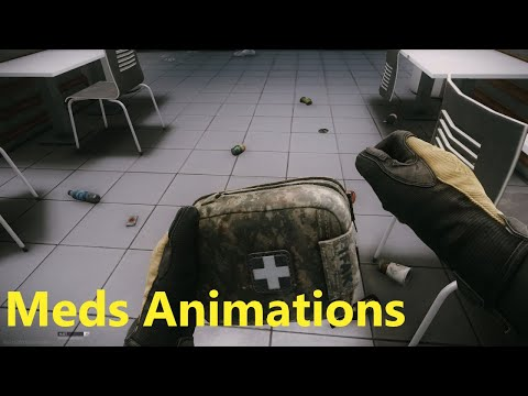 Escape From Tarkov - All Meds Animations