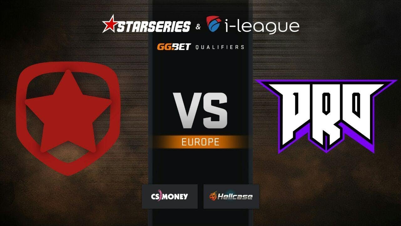 Gambit vs pro100, map 2 Overpass, StarSeries & i-League S7 GG.Bet EU Qualifier