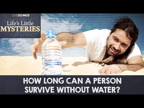 How Long Can a Person Survive Without Water?