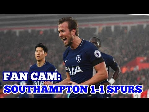 FAN CAM: Southampton 1-1 Tottenham Hotspur VLOG: Frustrating Day at St. Mary's - 21 January 2018