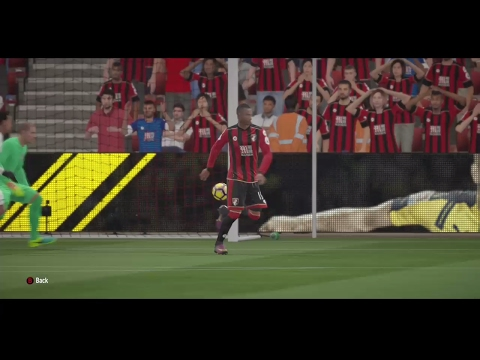 Fifa 17 Online Seasons Division 2 AFC Bournemouth 4 - 1 RSC Anderlecht