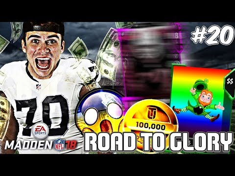 HE FORGOT TO PICK UP THE BALL CRAZIEST PLAY! RTG EP. 20 | Madden 18 Ultimate Team Road To Glory