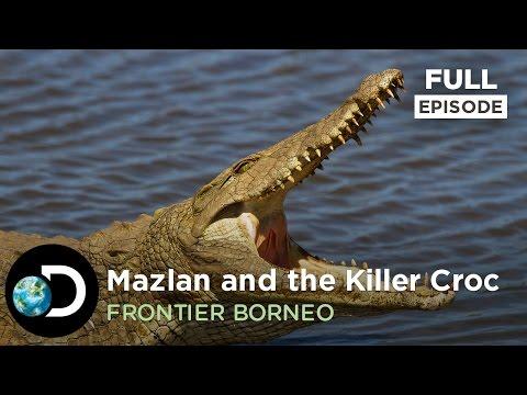 Full Episode: Mazlan and the Killer Croc | Frontier Borneo S01E03