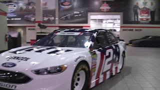 NASCAR Salutes: Keselowski meets with Eckard family
