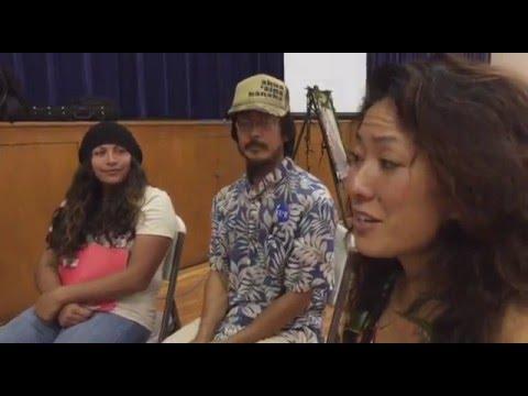 'Aha Aloha 'Āina ma Wai'anae scenes from Kino gathering