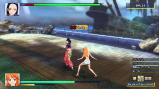 One Piece: Unlimited World Red - Nami vs Nico Robin