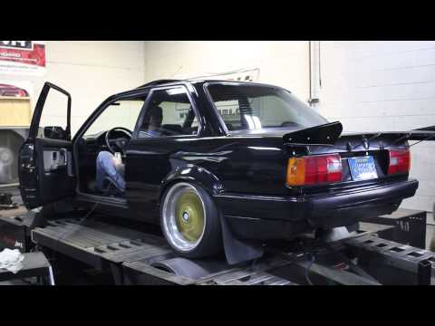 Turbo S52 BMW E30 Dyno Run