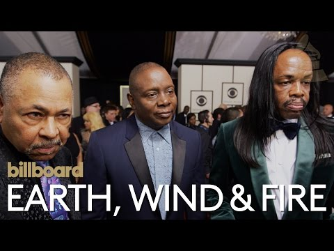 Earth, Wind & Fire: The 2016 GRAMMY Red Carpet