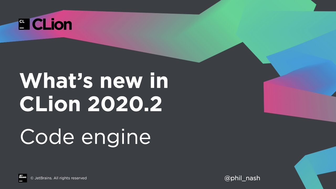 What's New in CLion 2020.2: Code Engine