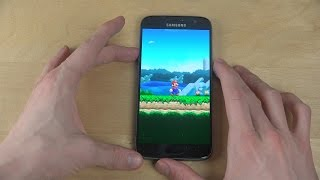 Super Mario Run Samsung Galaxy S7 Android Gameplay - Review!