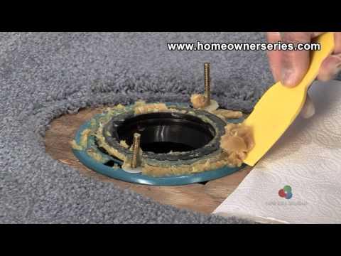 How to Fix a Toilet - Diagnostics - Leaking Base