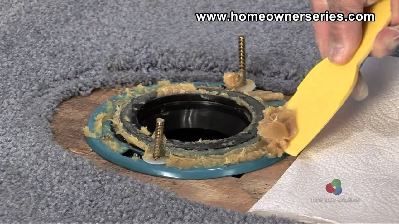 How To Fix A Toilet Diagnostics Leaking Base YouTube - Bathroom leak repair cost
