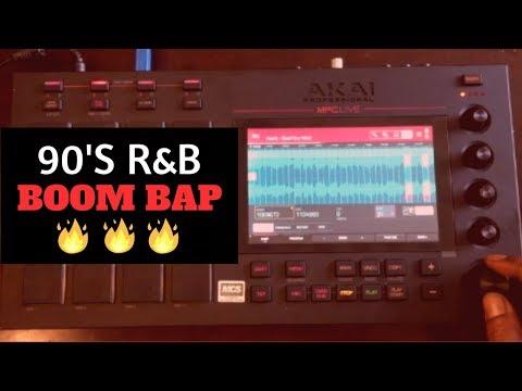 Turning 90s RnB To Boom Bap Beats | MPC Live Chopping Block | Avant