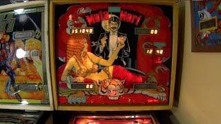 1978 Bally MATA HARI Pinball Machine In Action