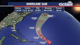 Hurricane Sam and tropical weather forecast: Sept 28, 2021