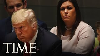 Sarah Sanders Tells Christian TV Network That God 'Wanted Donald Trump To Become President' | TIME