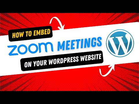 How To Embed Zoom Meetings On Your Website
