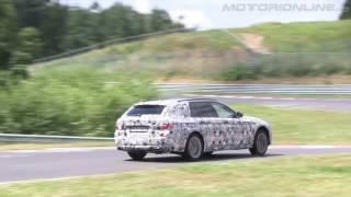 """""""بالفيديو"""" شاهد اختبار الفئة الخامسة من بي ام دبليو على حلبة سباق نوربورغرينغ 2017 BMW G31 5"""
