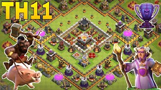 Th11 trophy base 2018/coc th11 trophy pushing base 2018/war base/legend base/clash of clan