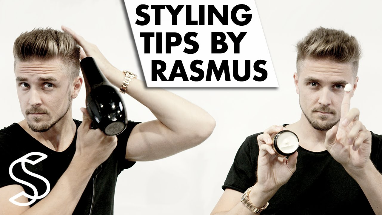 Short Hairstyle On Point Styling Tips By Rasmus Vilain Youtube