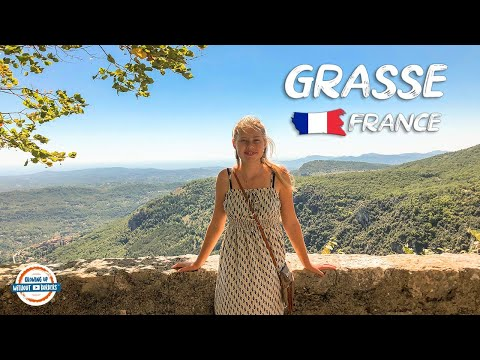 Grasse France - Perfume Capital Of The World | 90+ Countries With 3 Kids