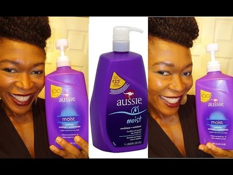 Aussie moist conditioner review natural hair