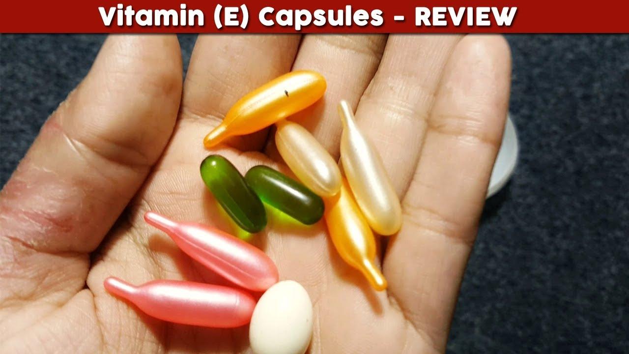 vitamin e capsules for skin whitening