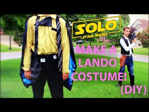 make your own lando calrissian costume diy youtube