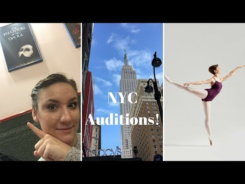 Ballet, Broadway, and Beginning My Adventure!