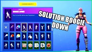 ⭐COMMENT DEBLOCK BOOGIE DOWN ON #FORTNITE #A2F 🔥FreeEMOTE🔥