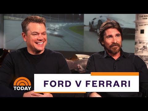 Matt Damon, Christian Bale On 'Ford V Ferrari' (Full Interview) | TODAY