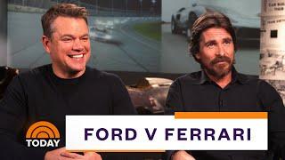 Matt Damon, Christian Bale On 'Ford V Ferrari' (Full Interview)   TODAY