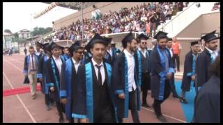 Düzce Üniversitesi Meslek Yüksek Okulları Mezuniyet Töreni 2016-2017