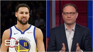 Woj explains what the Klay Thompson max offer means for Kevin Durant, Warriors | SportsCenter