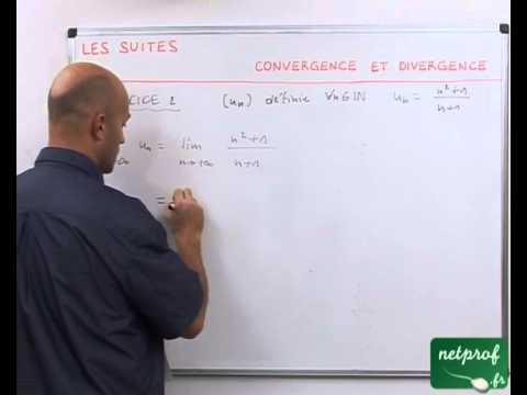 07 Suites : convergence et divergence