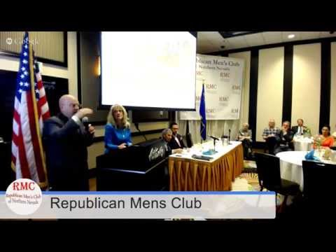 Senator Ira Hansen & Assemblymember Jill Dickman Pound the Rhinos at the RMC