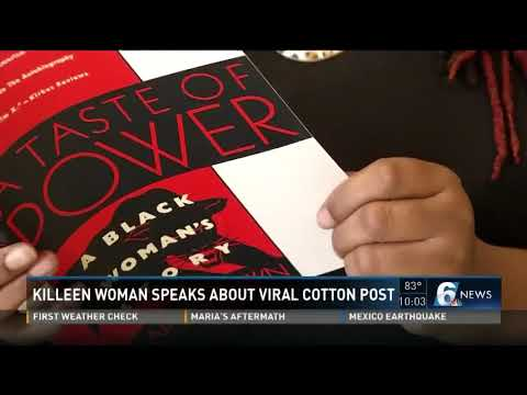 Killeen woman speaks about viral cotton post awards
