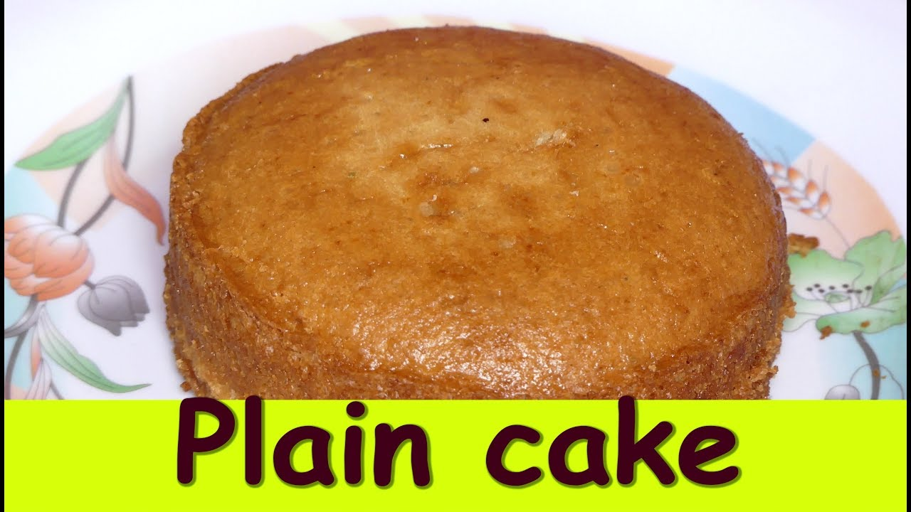 Plain Cake Without Oven In Kannada