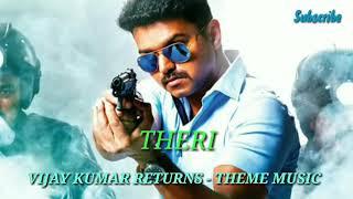 Vijay Kumar Returns – Theme | Theri | Vijay, Samantha, Amy Jackson | Atlee | G.V. Prakash Kumar