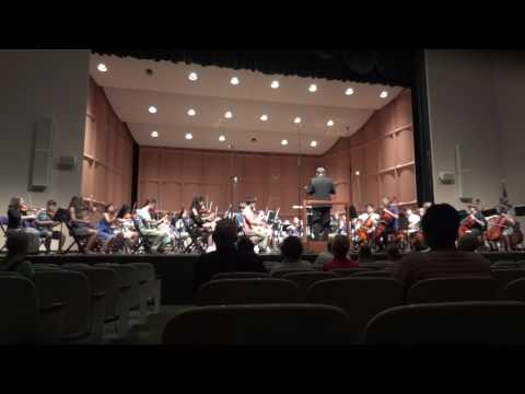 Music from Lord of the Dance, Ronan Hardiman, Symphony Orchestra Furman University 2017 Summer camp