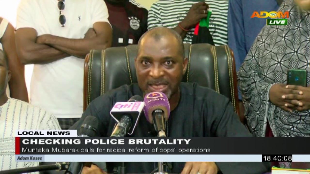 Checking Police Brutality Adom Tv News 29 10 20 Youtube