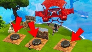 3 LAUNCH PADS in FINAL CIRCLE on Fortnite
