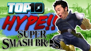 Top 10 Most HYPE Super Smash Bros. Moments
