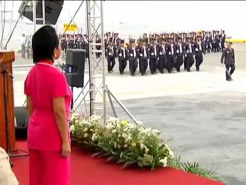 1  Philippine Coast Guard Testimonial Parade and Review in Honor of President Gloria Macapagal Arroyo